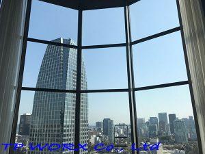 東京都港区赤坂タワーマンション遮熱遮光フィルム