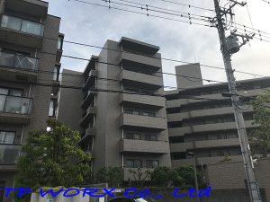 神奈川県横浜市マンション遮熱フィルム